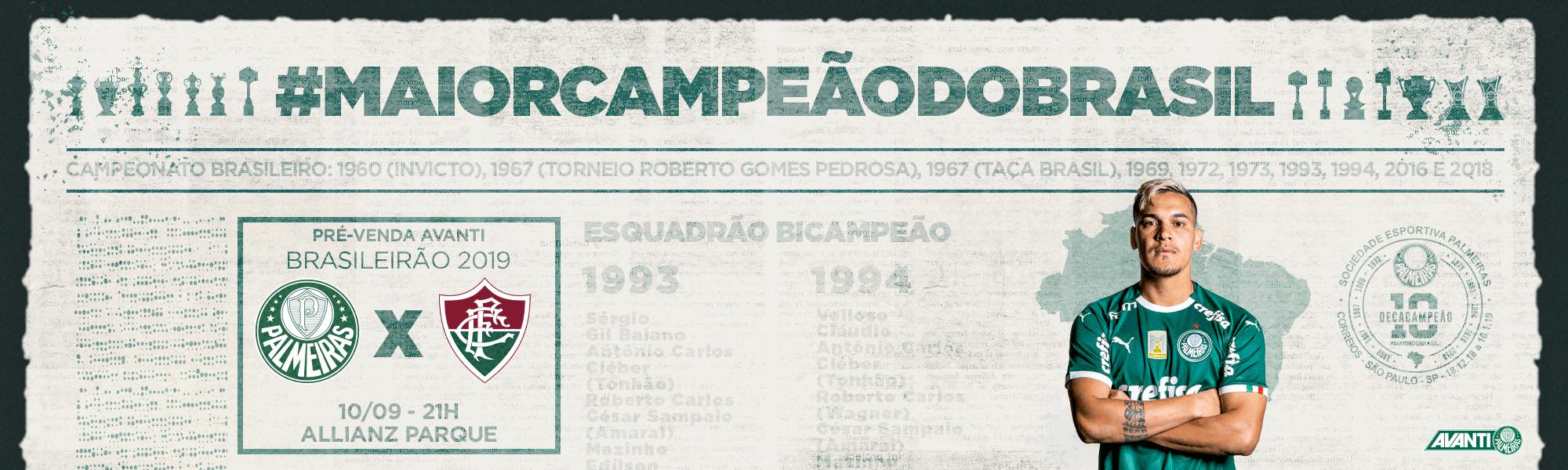 Pré venda Palmeiras X Fluminense